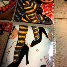 #sneakpeek of a #vintage #halloween #wicked #witch #wickedwitch #pocketletter heading out tomorrow #inkypinkyboo