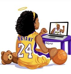 Kobe Bryant Family, Kobe Bryant 8, Lakers Kobe Bryant, Kobe Quotes, Kobe Bryant Quotes, Nba Players, Basketball Players, Basketball Art, Nba Background