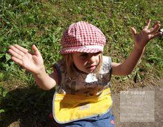 Bryndák s kapsou - PDF postup, fotopostup a střihy / Zboží prodejce Anka patka Sewing, Hats, Fashion, Moda, Dressmaking, Couture, Hat, Fashion Styles, Fabric Sewing