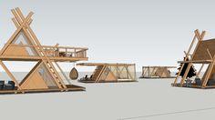 K2MODUL/glampingMOD by damijan koprivc - 3D Warehouse