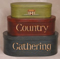 Nesting Boxes - Country Gathering-Nesting Boxes - Country Gathering
