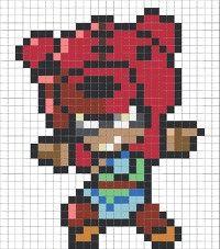 Perler Bead Art, Perler Beads, Brick Patterns, Perler Patterns, Star Art, Lego Brick, Kawaii, Gd, Mars