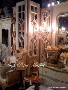 Sissie's Shabby Cottage: What's new at High Point Furniture Mart!