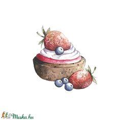 Epres matrica csomag (Teki) - Meska.hu  #eper #eperszezon #epertorta #epersüti #sütemény #édesség #áfonya #strawberry #erdbeere #erdbeeren🍓 #strawberryillustration #mik #ikozosseghungary #illust #illusztráció #ételillusztráció #foodwatercolor #foodillustration #fooddrawing #hungariandesign #waterblog #cookiepackaging #dessertillustration #akvarell #kutchen #konyha Digimon, Drawing, Illustration, Strawberries, Sketches, Illustrations, Drawings, Draw