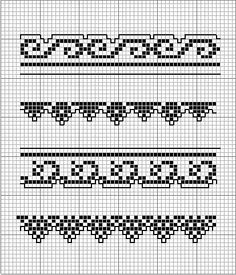 Gallery.ru / Фото #59 - MONOCOLOR - aaadelayda      2 wave & 2 picot-type borders