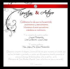 Invitaciones Texto El Bodablog De Yaroslav Y Arthi