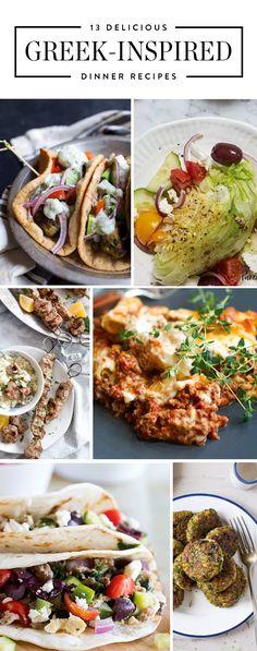 42 best greek dinner recipes images on pinterest greek recipes 13 greek inspired dinner recipes to whip up on weeknights forumfinder Gallery