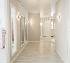 Have a great sunday😊 Condo Living, Home And Living, Hallway Decorating, Interior Decorating, Apartment Renovation, Living Room White, Contemporary Home Decor, Basement Remodeling, Home Decor Inspiration