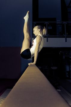"""Russian Lever"" from Kythoni's Gymnastics: The Balance Beam board: http://pinterest.com/kythoni/gymnastics-the-balance-beam/ m.6.1"