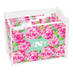 Lilly Pulitzer Personalized Recipe Box - First Impression