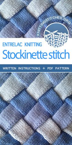 Knittingstitches Org -- Entrelac Knitting Tutorial And Pattern Knittingtutorials , knittingstitches org - entrelac knitting tutorial und pattern knittingtutorials , knittingstitches org - tutoriel de tricotage entrelac et tutoriels de tricotage Knitting Blogs, Baby Knitting Patterns, Loom Knitting, Knitting For Beginners, Hand Knitting, Tricot Entrelac, Knit Basket, Stockinette, Knit Or Crochet