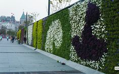 Are you willing to take a walk along the colorful artificial hedges wall? If your have more requirements, remember to contact us. E-mail: sales@artificial-hedge.net #artificialhedgewalloutdoor #creativedesign #verticalgarden