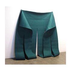 """ #robertmorris #art #artist #artinstallation #sculpture #installation #felt #shape #contemporaryart"" Photo taken by @coralie.marabelle on Instagram, pinned via the InstaPin iOS App! http://www.instapinapp.com (10/19/2015)"