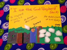 Children's Bible Lessons: Lesson - Parable Of The Good Shepherd