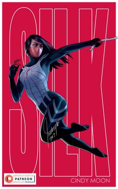 Silk by - Marvel comics art Buy Comics, Marvel Comics Art, Marvel Heroes, Marvel Women, Marvel Girls, Comics Girls, Silk Spiderman, Spiderman Art, Gi Joe