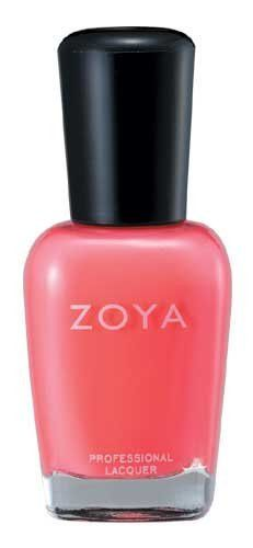 Zoya Nail Polish - Coral/Orange (Maya)