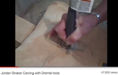 Wood carving with Dremel.  Good info on how and why to use certain Dremel bits with wood.