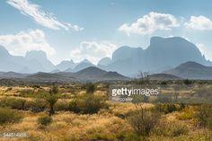 Photo : USA, Texas, Big Bend National Park, Desert landscape