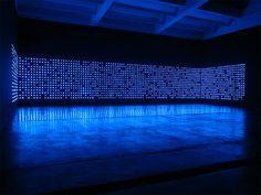 tatsuo miyajima / indigo light installation