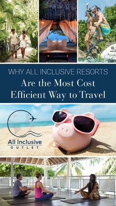 Searching for a tropical, but budget friendly vacation? Find out why all inclusive resorts are the most cost efficient way to travel! #allinclusive #resort #travel #wanderlust