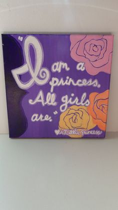 A Little Princess Quote by maddierosedoodles on Etsy, $30.00