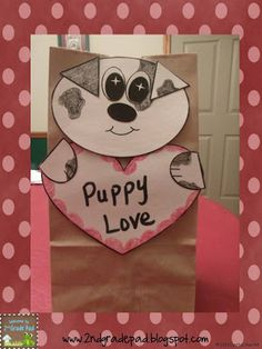 2nd Grade Pad: Valentine's Critter Bags FREEBIE