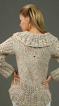 Captivating Crochet a Bodycon Dress Top Ideas. Dazzling Crochet a Bodycon Dress Top Ideas. Cardigan Au Crochet, Crochet Jacket, Crochet Cardigan, Crochet Scarves, Crochet Shawl, Crochet Clothes, Crochet Stitches, Knit Crochet, Crochet Patterns