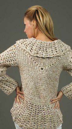 Free+Crochet+Sweater+Patterns | Free Crochet Patterns Bolero Sweater photos