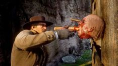 Red Dead Redemption 2' Has Serial Killer in Them Thar Hills Red Dead Redemption Ii, Horror Video Games, Fancy Pants, Old West, Serial Killers, Old Things, Rdr 2, Gaming, Game