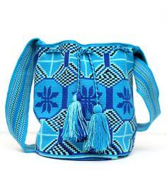 Wayuu Tribe Mochila Blue