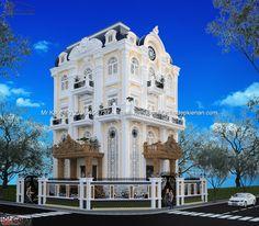 thiết kế biệt thự cổ điển tại quận 2| mẫu biệt thự cổ điển đẹp nhất|biệt thự tân cổ điển pháp|biet thu tan co dien phap