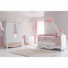 Belis Rose Maxi Bebek Odası Takımı #bebek #alışveriş #indirim #trendylodi #bebekodası #mobilya #dekorasyon #evdekorasyon #anne #baba