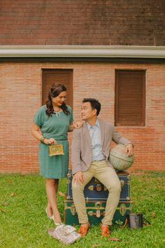 Colorful, Vintage And The Notebook Inspired Engagement Session from Michelle Pineda Photography