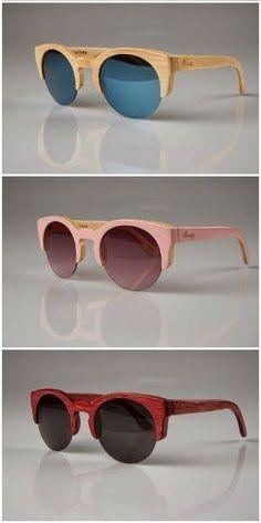 Woodys Barcelona, Gafas de madera, Wood sunglasses, Montura de madera: Hiroto 0.33 el modelo de Blanca Suárez - by Cris Figueired♥