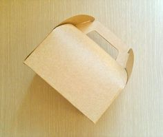 10 Kraft  Tote  Bakery  Boxes by fromsoul on Etsy