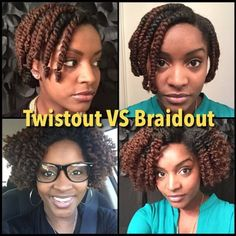 Twist Out vs Braid Out - Black Hair Information Community