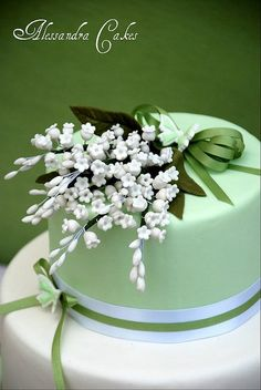 Cake Lilies of the Valley