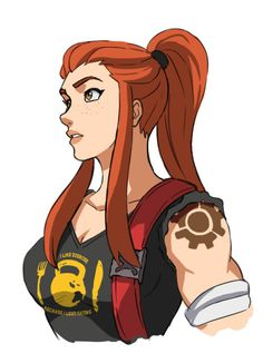 Overwatch Fan Art #overwatch# Brigitte Lindholm