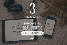 3 Hip iPad & iPhone mock-ups by Madebyvadim on Creative Market