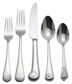 Sweet! Reed & Barton Sea Shells Flatware