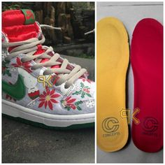 """e72f3f6ef2f Concepts x Nike SB Dunk High """"Ugly Christmas Sweater"""" Sneaker (Images) Holy  SHIT"""