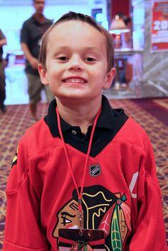 Joey the Junior Reporter #blackhawks