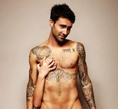 I'm not sure why I'm just now realizing the level of sexuality of Adam Levine but I'm glad I did! :)