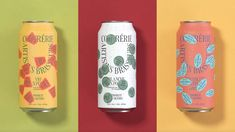 Confrérie Artisans Brasseurs' Design Utilizes Stickers To Glorious Effect | Dieline Packaging Inspiration, Branding, Brand Identity, Fruity Drinks, Beer Brands, Fruit In Season, Creativity And Innovation, Stickers, Artisanal