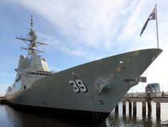 Avances en la puesta a punto de los destructores australianos-noticia defensa.com
