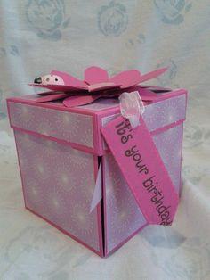 Explosion Box Compleanno