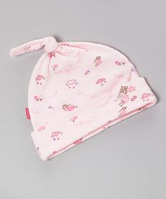 Pink Sweet Dreams Fairy Single-Knot Beanie by Kushies on #zulily