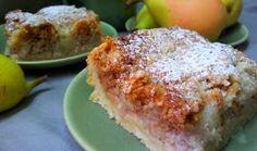 Hruskovy kolac s orechy a drobenkou