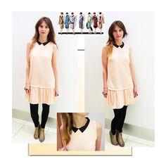 Dress: PULL & BEAR   Boots: ASOS   Bangle: Jackie Brazil World