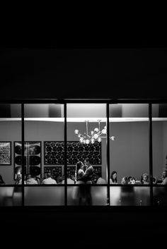 From the outside looking in on a rehearsal dinner at California Grill at Disney's Contemporary Resort. Photo: Jacob, Disney Fine Art Photography
